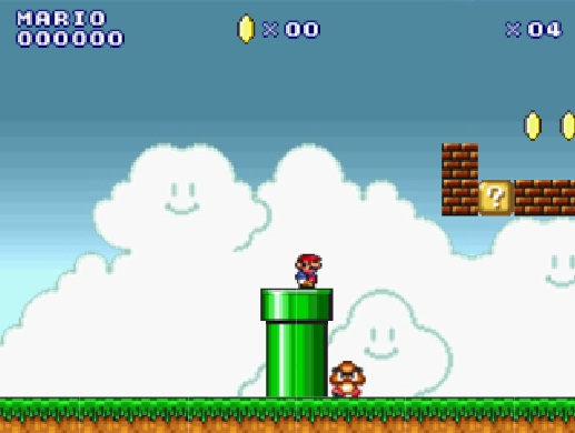 play mario flash