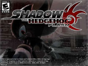 sonic shadow the hedgehog