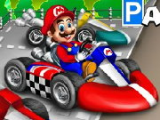 play mario kart parking game